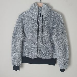 Sherpa Pullover Hoodie with 1/2 Zip by 26 Int'l